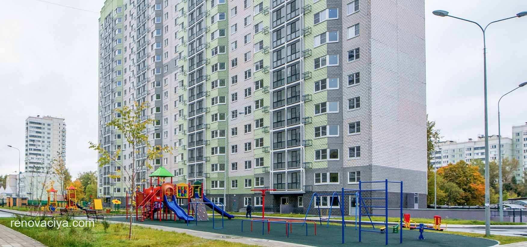 одобрен проект квартала в Бутырском районе