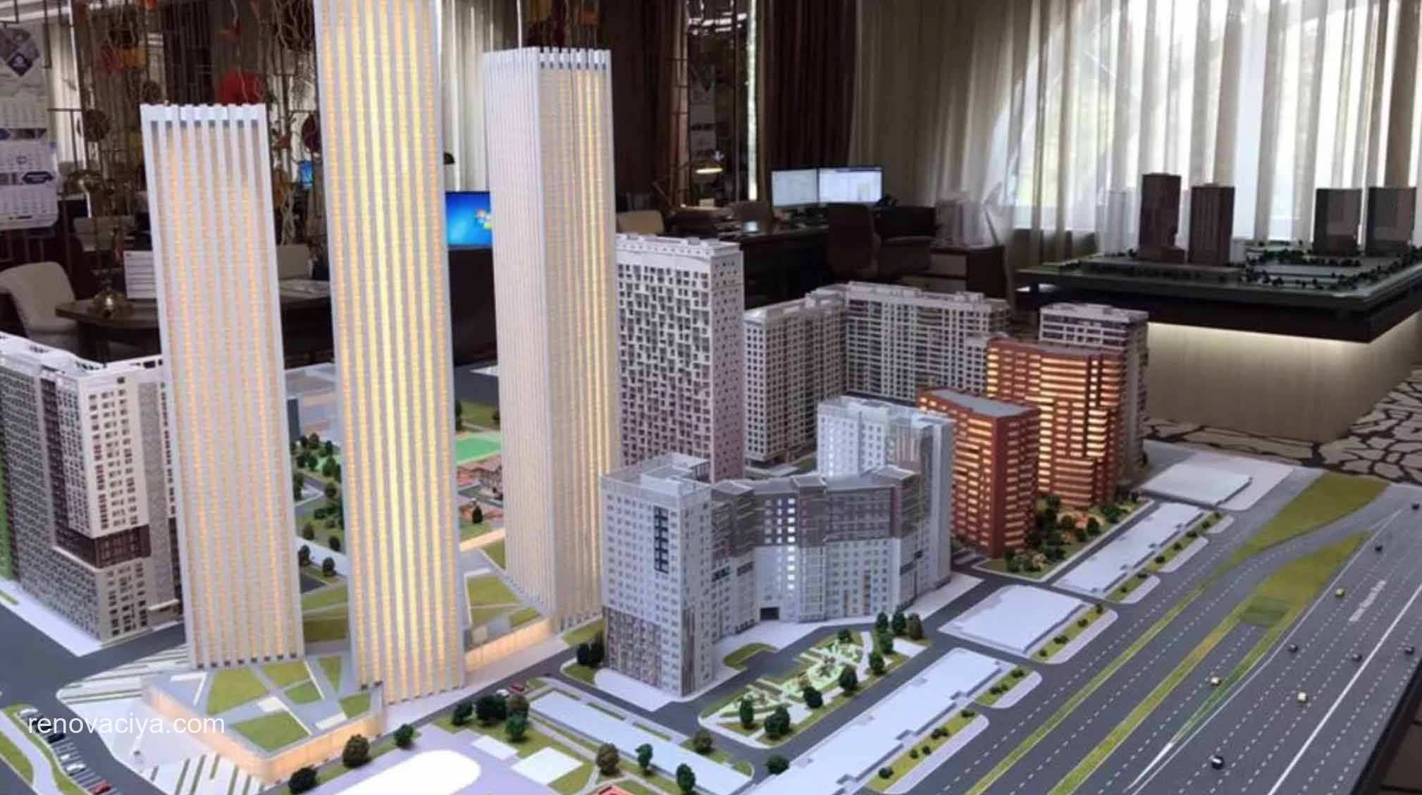 в районе Хорошево-Мневники построят 250 тыс м2 жилья