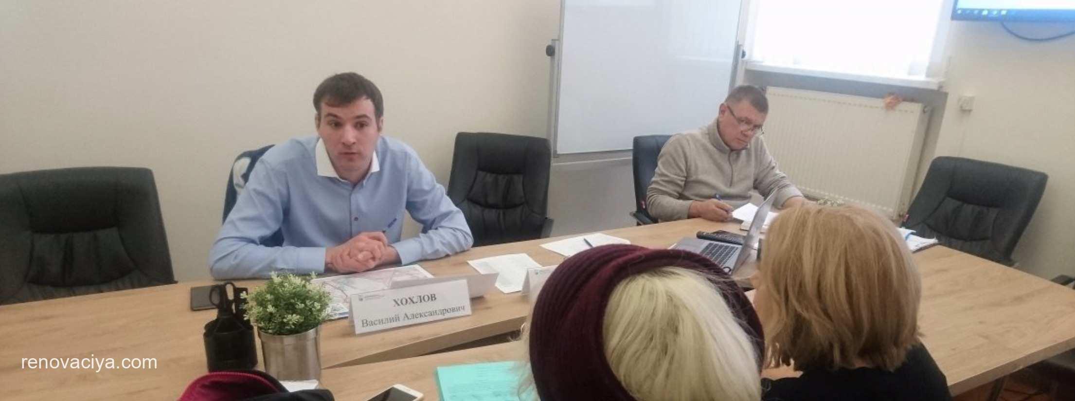 Общественный штаб будет публиковать проекты планировок