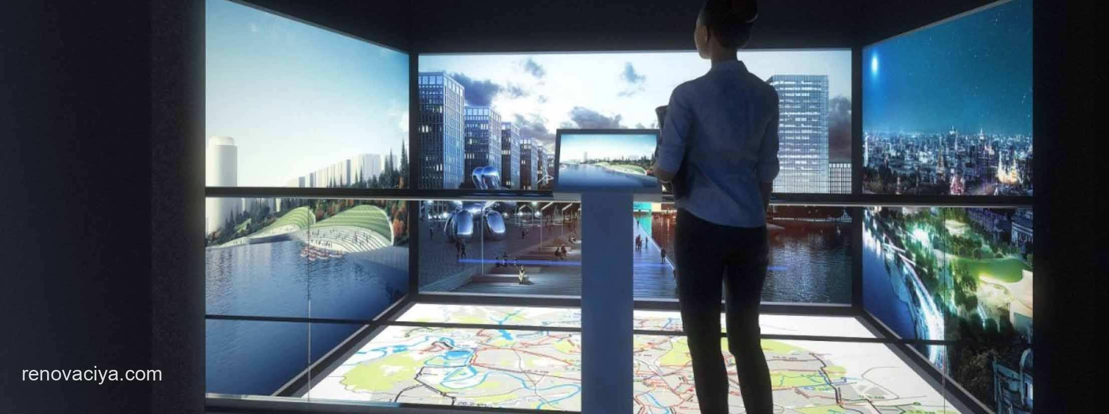 На стенде Правительства представлен обновленный мультимедийный комплекс