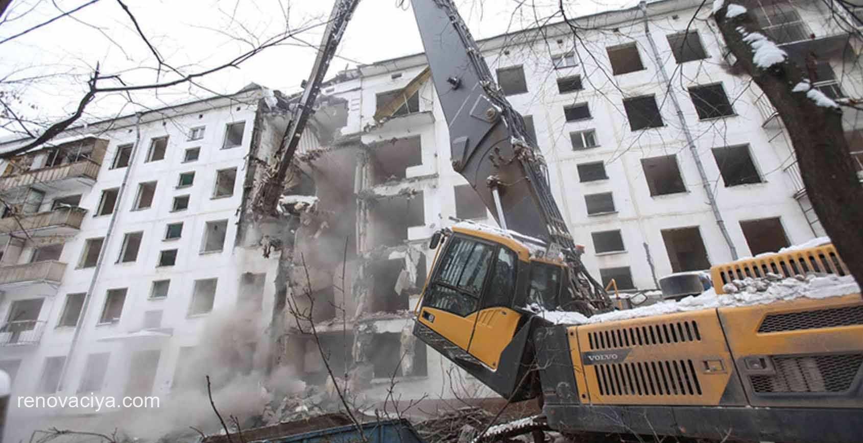Десятки домов в реновации через через суд