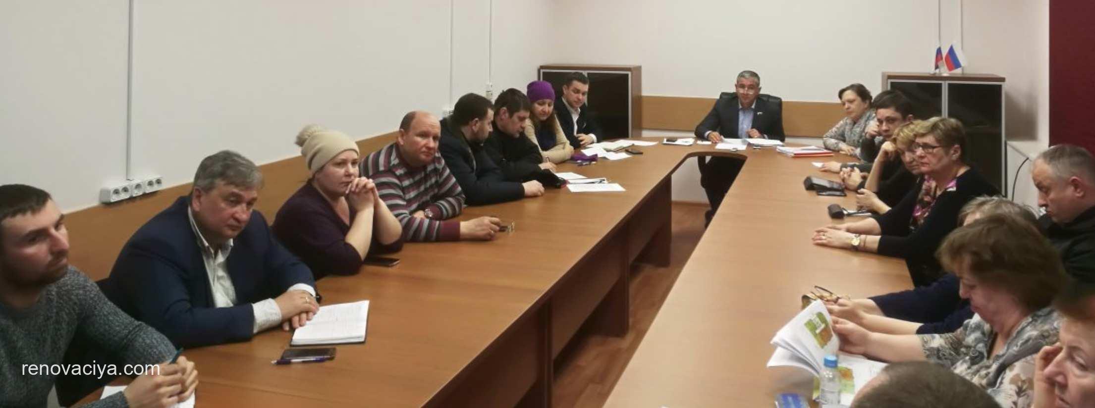 Жители Косино встретились с Фондом реновации