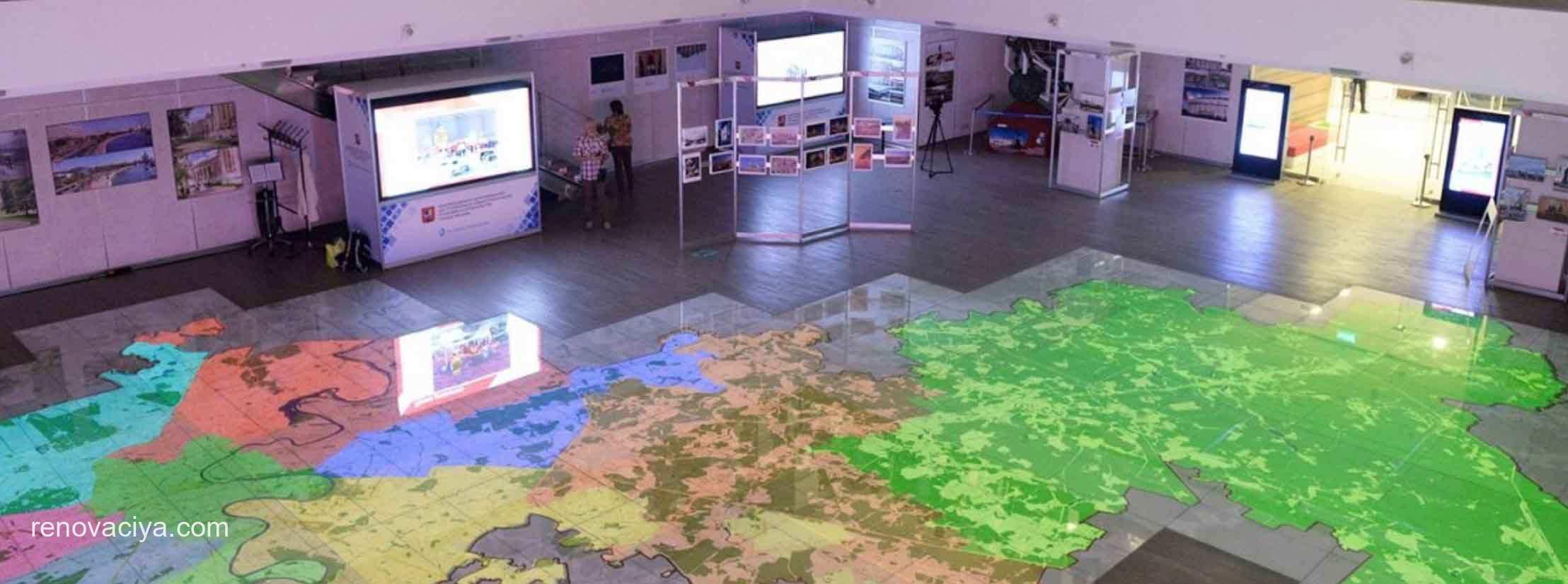Интерактивная карта Москвы покажет новые объекты