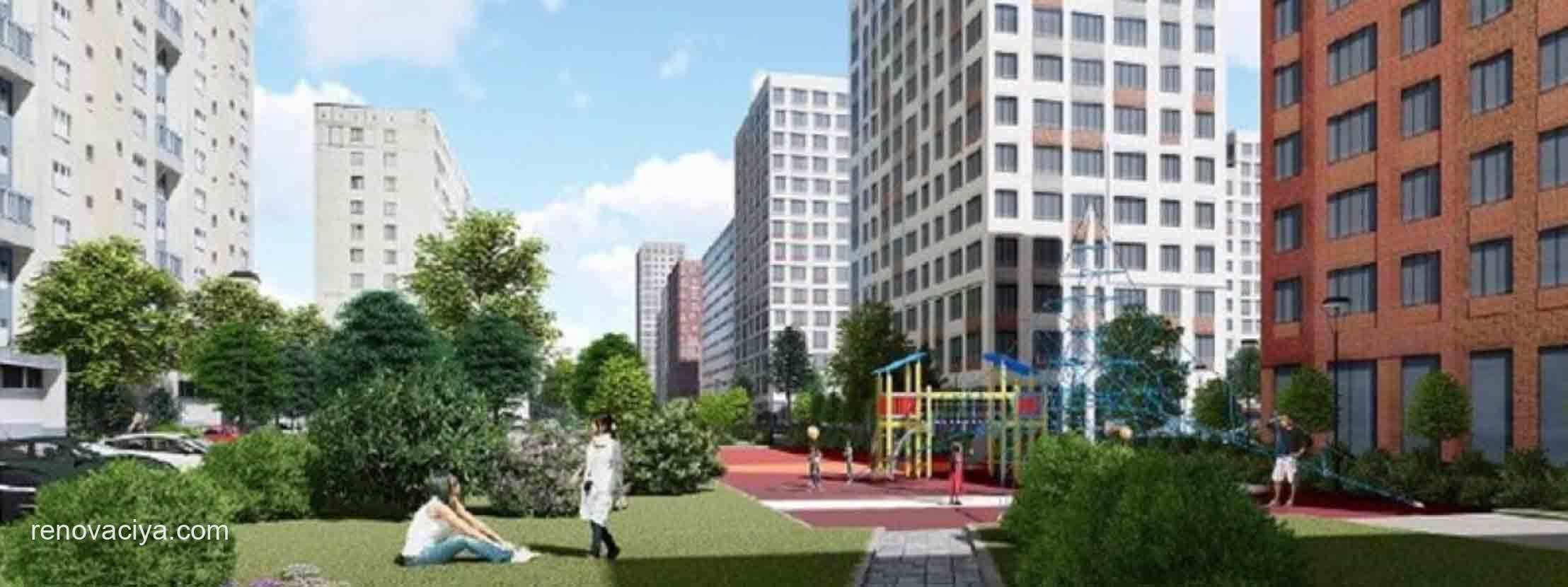 Проект планировки 5-го микрорайона Северного Тушино