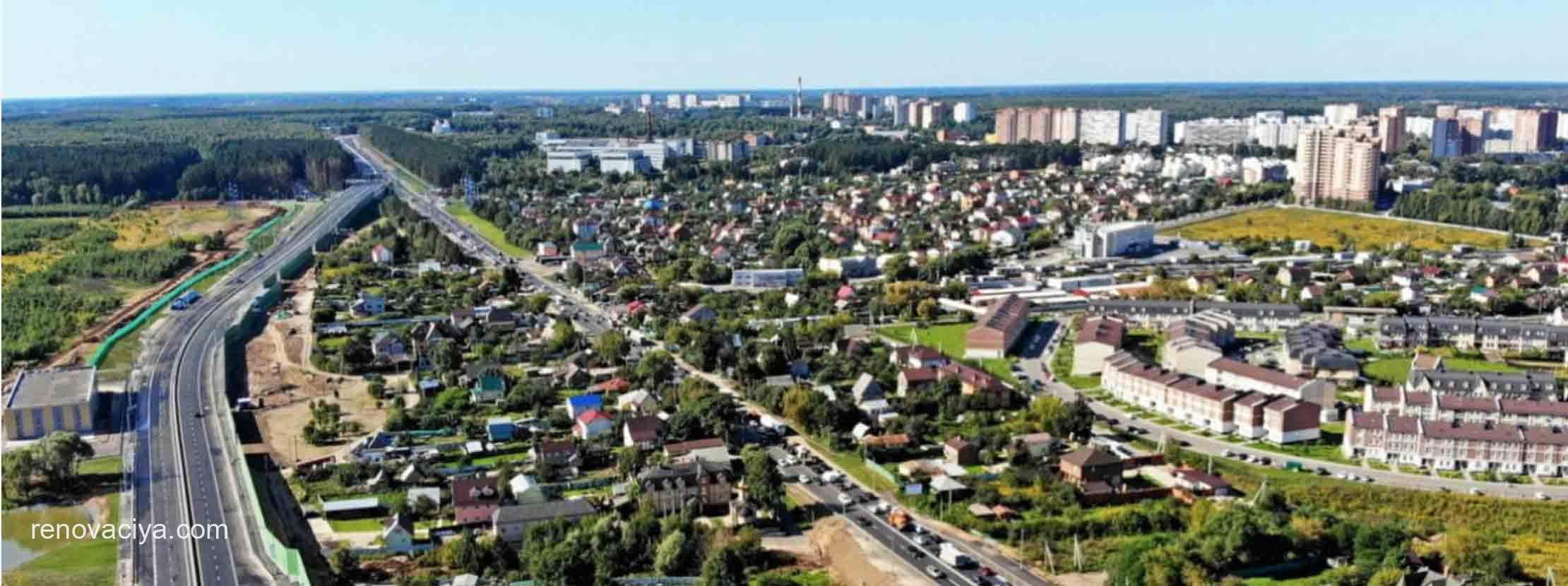 Первые дома по реновации в Новой Москве