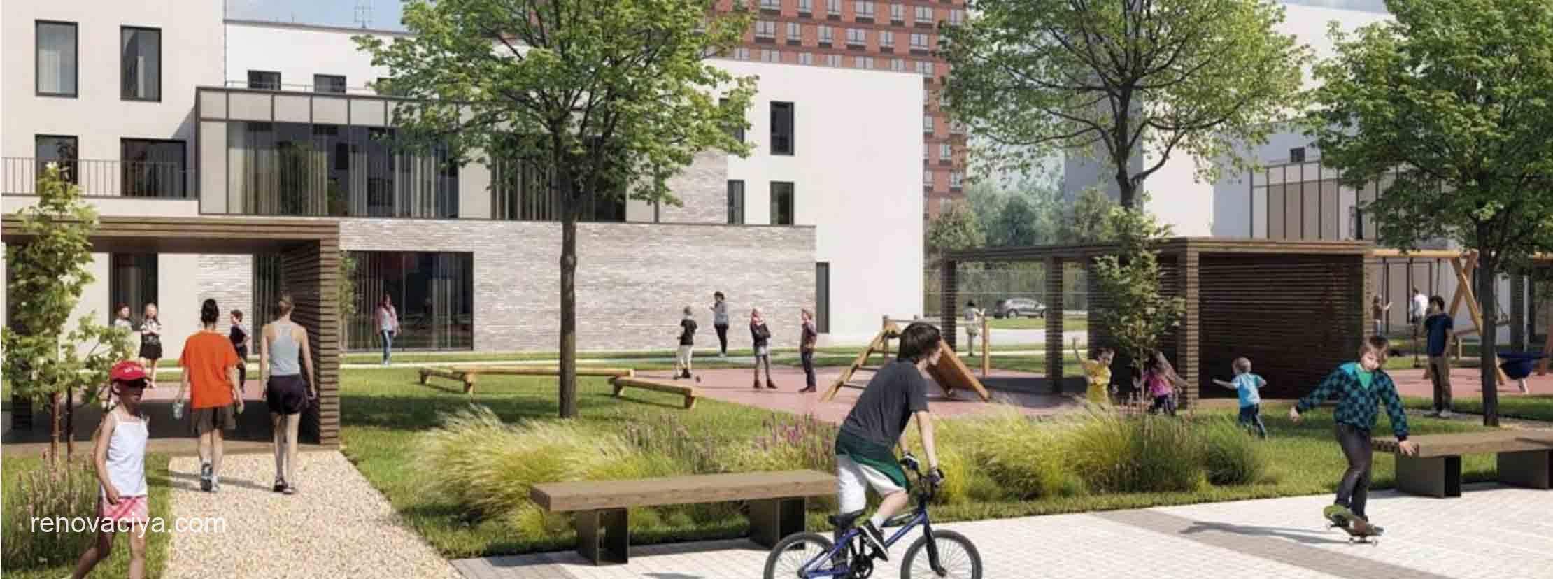 в Метрогородке построят детские сады и школы