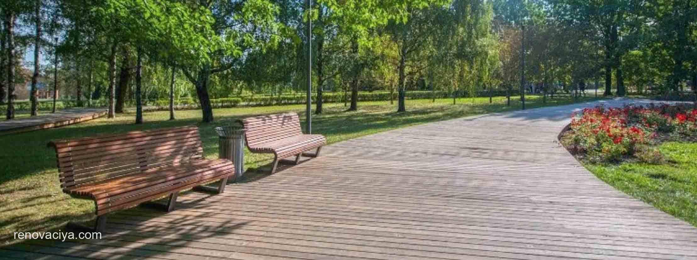 в порядок приведут 160 парков и 4,5 тысячи дворов