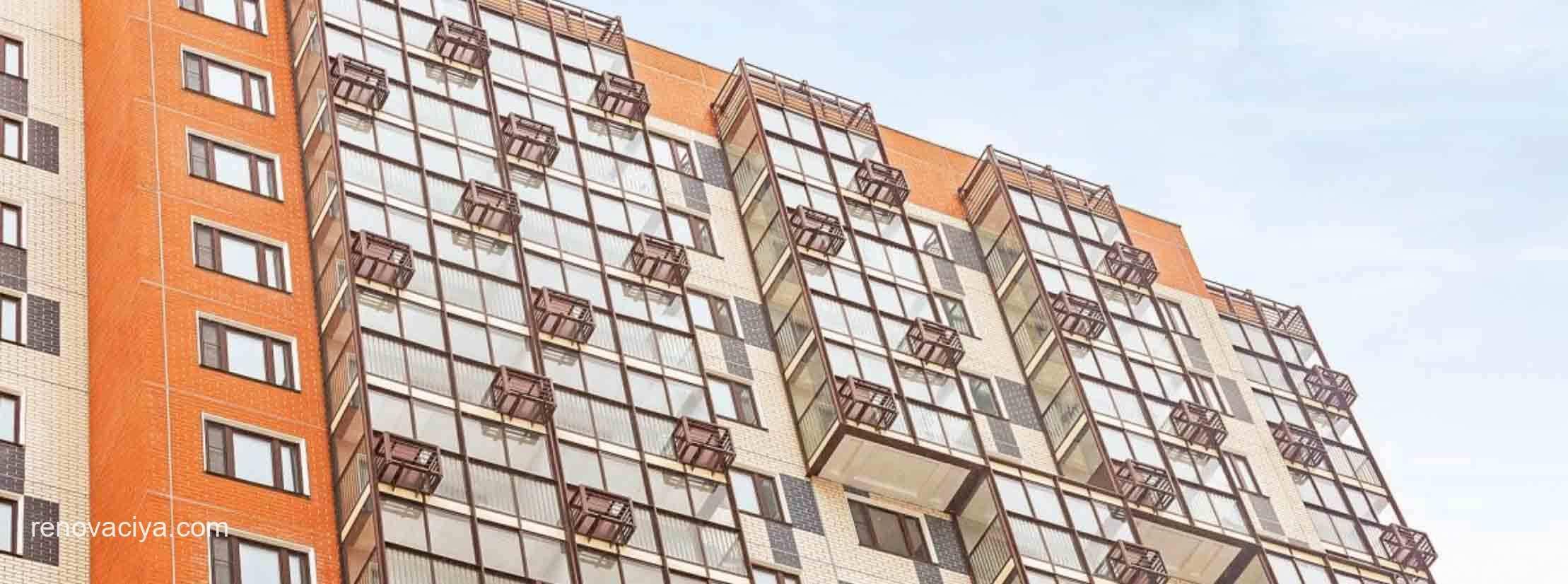 реновация в Бирюлеве - 18-этажный дом