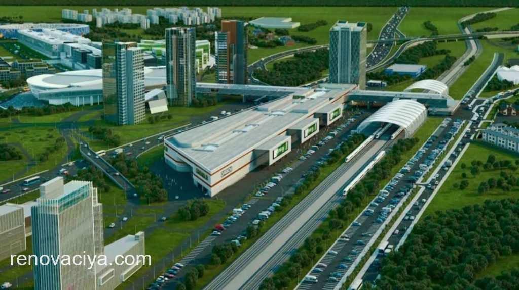мультимодальный транспортный узел в Сколково