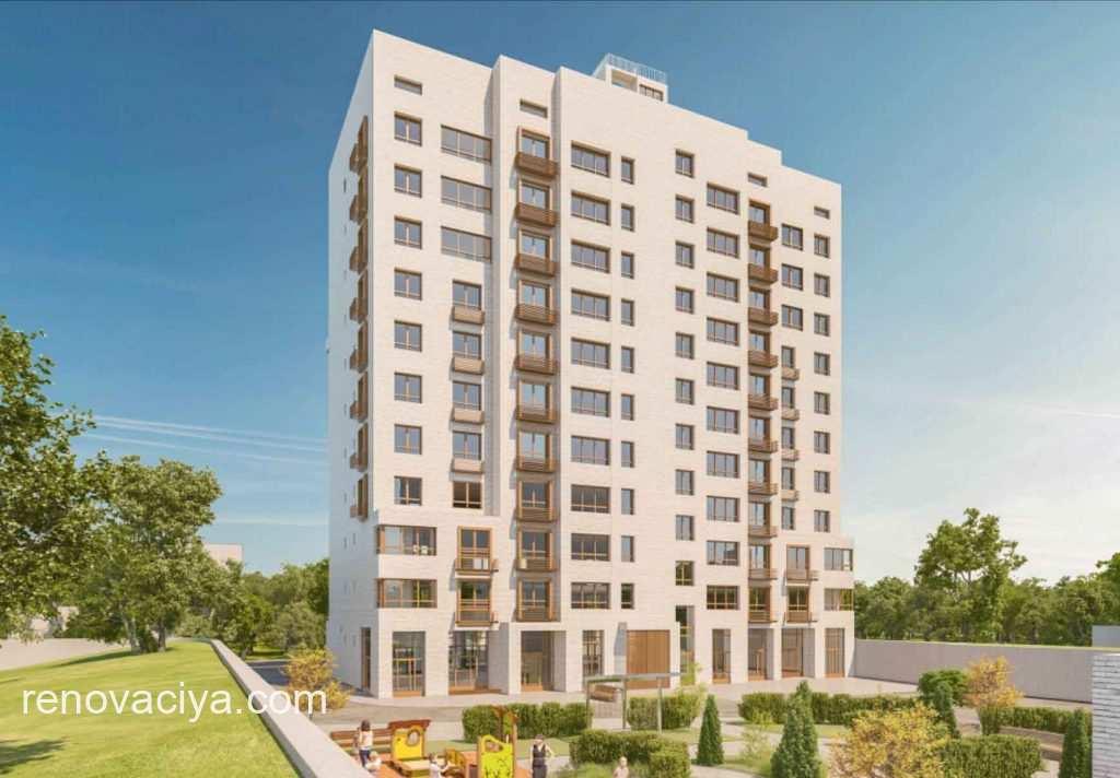 новый жилой дом в Марьиной Роще