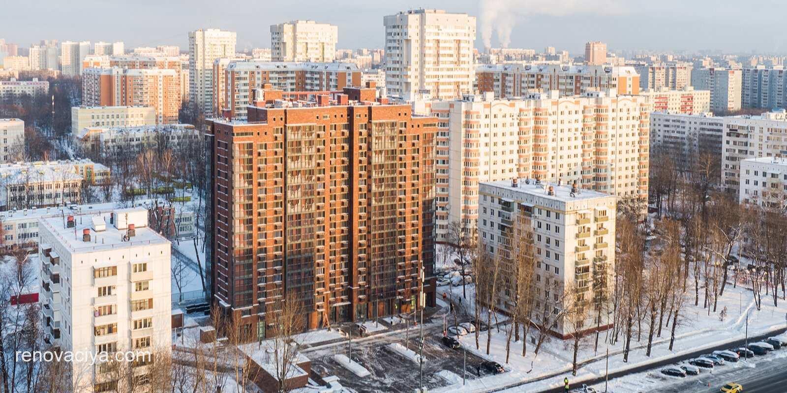 Первый миллион жилья по реновации
